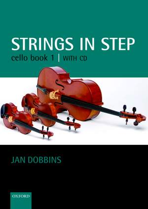 Dobbins: Strings in Step Cello Book 1 (Book and CD)