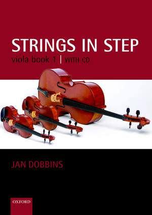 Dobbins: Strings in Step Viola Book 1 (Book and CD)