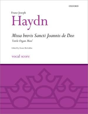 Haydn: Missa Brevis Sancti Joannis de Deo (Little Organ Mass) Product Image