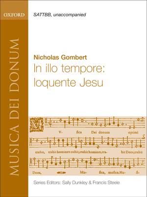 Gombert: In illo tempore: loquente Jesu