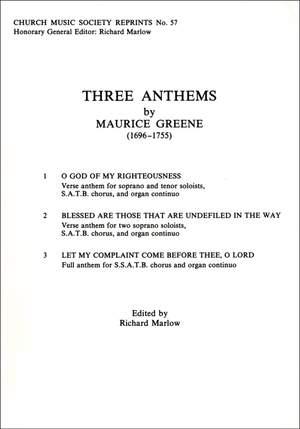 Greene: Three Anthems