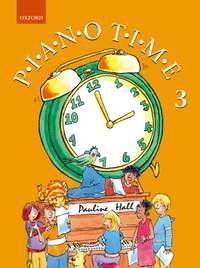 Hall, Pauline: Piano Time 3