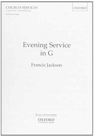 Jackson: Evening Service in G