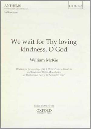 McKie: We wait for Thy loving kindness