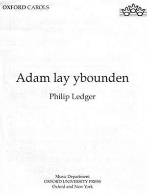 Ledger: Adam lay ybounden