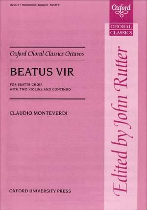 Monteverdi: Beatus vir