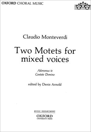 Monteverdi: Two Motets for mixed voices