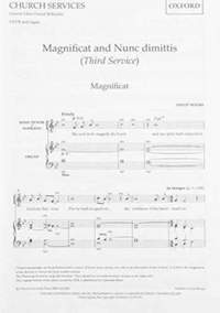 Moore: Magnificat and Nunc Dimittis (Third Service)
