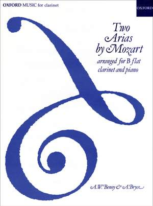 Mozart: Two Arias