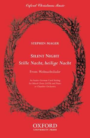 Mager: Silent night (Stille Nacht, heilige Nacht)