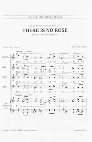 Martinson: There is no rose