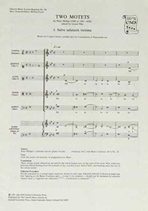 Philips: Two Motets