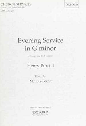Purcell: Evening Service in G minor