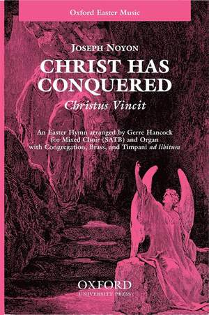 Noyon: Christ has conquered (Christus Vincit) Product Image