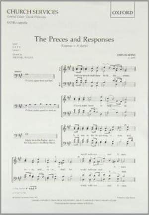 Reading: Preces and Responses