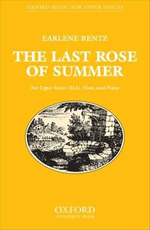 Rentz: The last rose of summer
