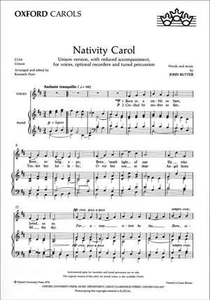 Rutter: Nativity Carol