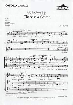 Rutter: There is a flower