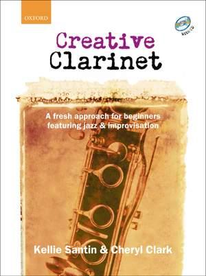 Santin, Kellie: Creative Clarinet + CD