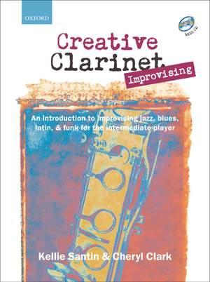 Santin, Kellie: Creative Clarinet Improvising + CD