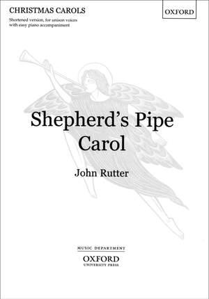 Rutter: Shepherd's Pipe Carol