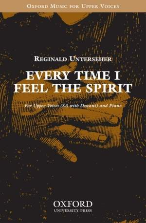 Unterseher: Every time I feel the spirit