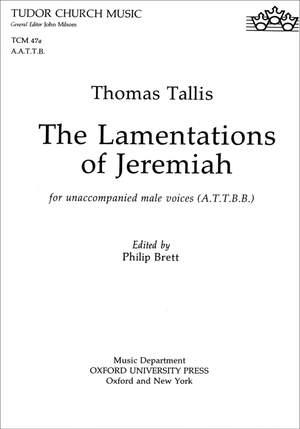 Tallis: The Lamentations of Jeremiah
