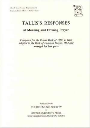 Tallis: Preces and Responses