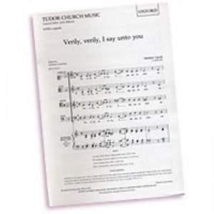 Tallis: Verily, verily