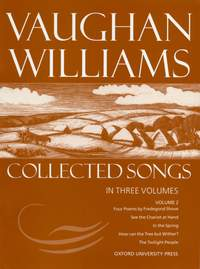 Vaughan Williams: Collected Songs Volume 2