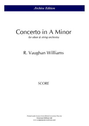 Vaughan Williams: Concerto for oboe and strings
