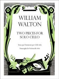 Walton: Two Pieces for solo cello
