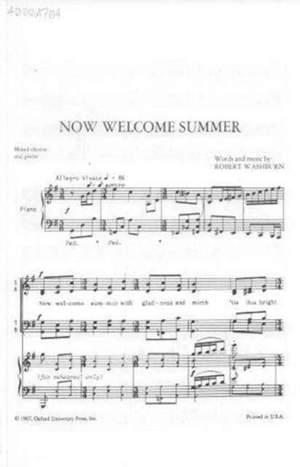 Washburn: Now welcome summer