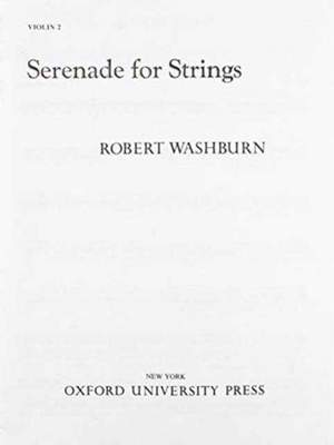 Washburn: Serenade for Strings