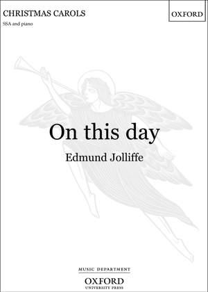 Jolliffe, Edmund: On this day