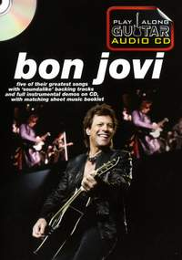Play Along Guitar Audio CD: Bon Jovi