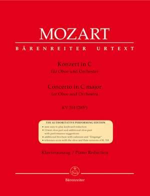 Mozart, WA: Concerto for Oboe in C (K.314) (K.285d) (Urtext)