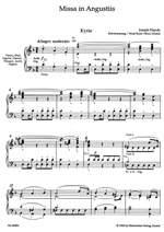 Haydn, FJ: Missa in Angustiis (Nelson Mass) (Hob.XXII:11) (Urtext) (L) Product Image
