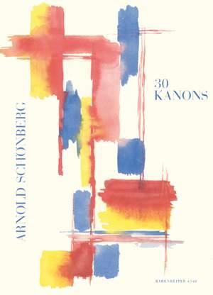 Schoenberg, A: Canons (30)