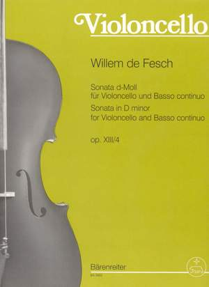 Fesch, W: Sonata in D minor, Op.13/4
