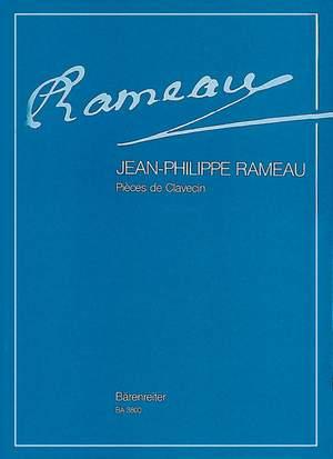 Rameau, J: Pieces de clavecin