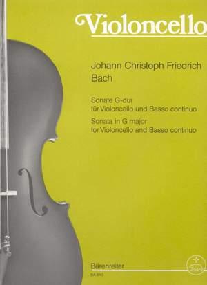 Bach, JCF: Sonata in G