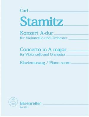 Stamitz, C: Concerto for Cello No.2 in A