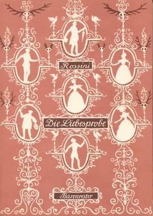 Rossini, G: Die Liebesprobe (La Pietra del Paragone) (G) (Urtext)