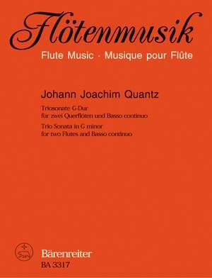 Quantz, J: Trio Sonata in G