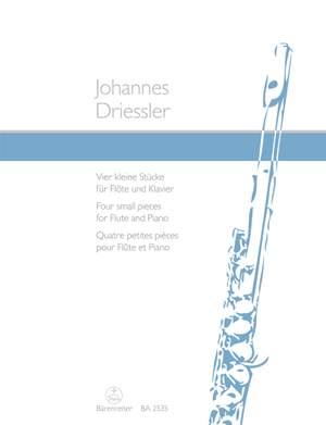 Driessler, J: Short Pieces (4), Op.8/2