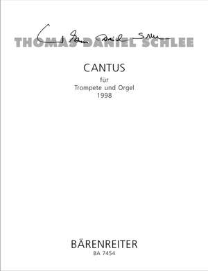 Schlee, T: Cantus