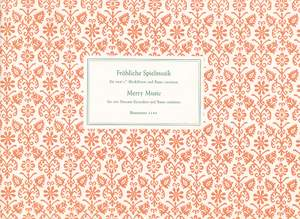 Various Composers: Froehliche Musik. Merry music
