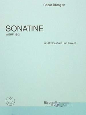 Bresgen, C: Sonatina in F, Op.18/ 2