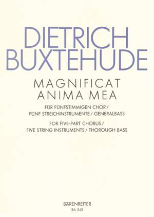 Buxtehude, D: Magnificat anima mea